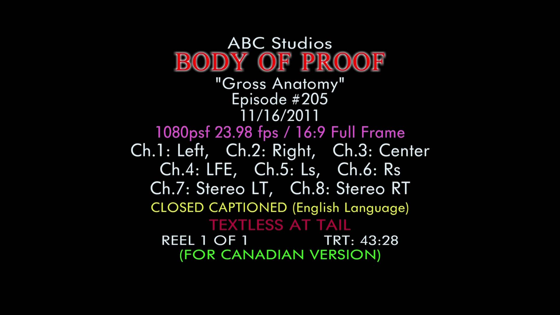 Body Of Proof Wikipedia Cad B