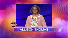 [Jeopardy! 2020 Teachers Tournament - Allison Thomas]