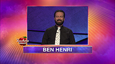 [Jeopardy! 2020 Teachers Tournament - Ben Henri]