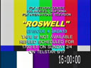 [Roswell feed rescheduled - yet again]